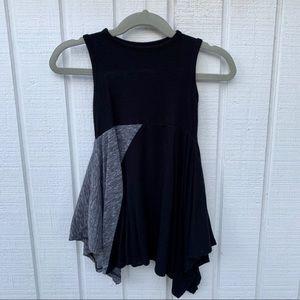 Black and Grey unique dress 18months